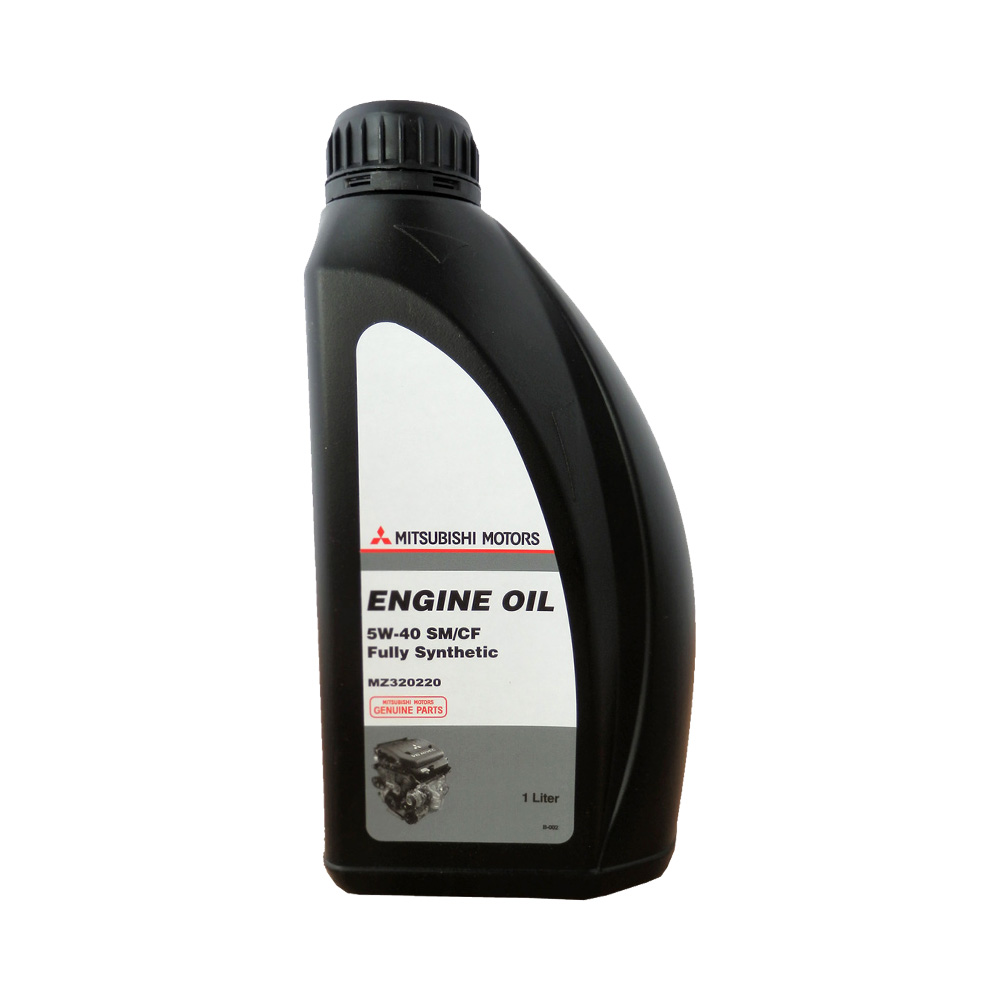 MITSUBISHI ENGINE OIL 5W40 1л синт MZ320361